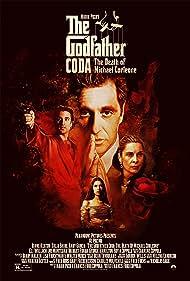 Al Pacino, Andy Garcia, Sofia Coppola, and Talia Shire in The Godfather: Part III (1990)
