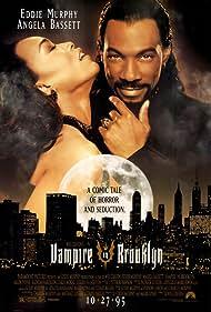 Angela Bassett and Eddie Murphy in Vampire in Brooklyn (1995)