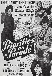 Priorities on Parade Poster