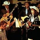Tommy Lee Jones and Sissy Spacek in Coal Miner's Daughter (1980)