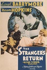 The Stranger's Return(1933) Poster - Movie Forum, Cast, Reviews