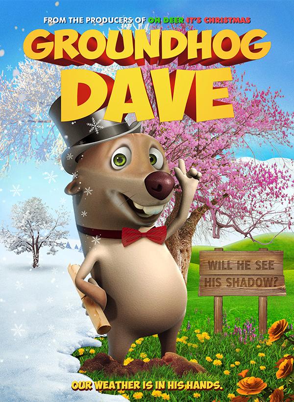 Groundhog Dave 2019 English 720p HDRip 450MB Download