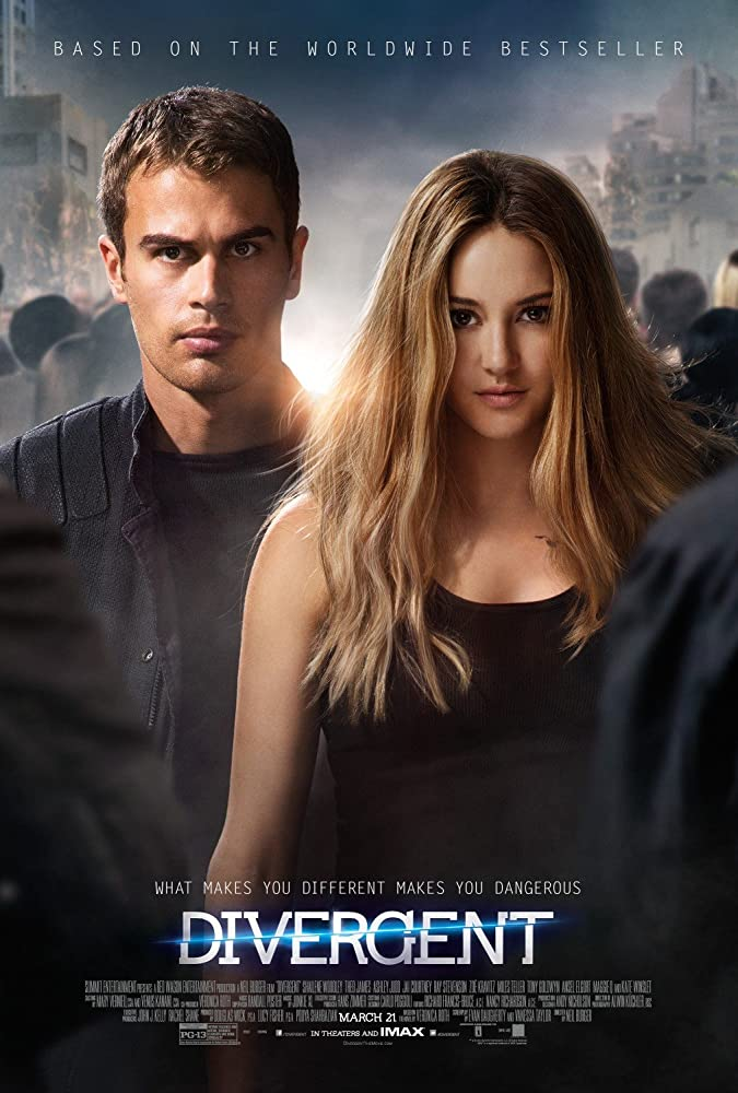Divergent (2014) Hindi Dual Audio 480p BluRay x264 ESubs 350MB
