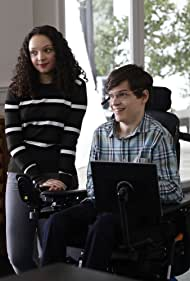 Kayla Maisonet and Micah Fowler in Speechless (2016)