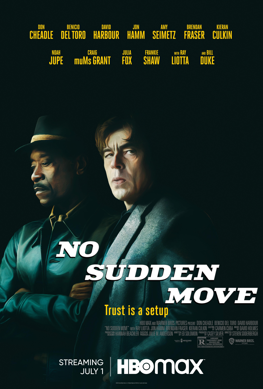 Don Cheadle and Benicio Del Toro in No Sudden Move (2021)