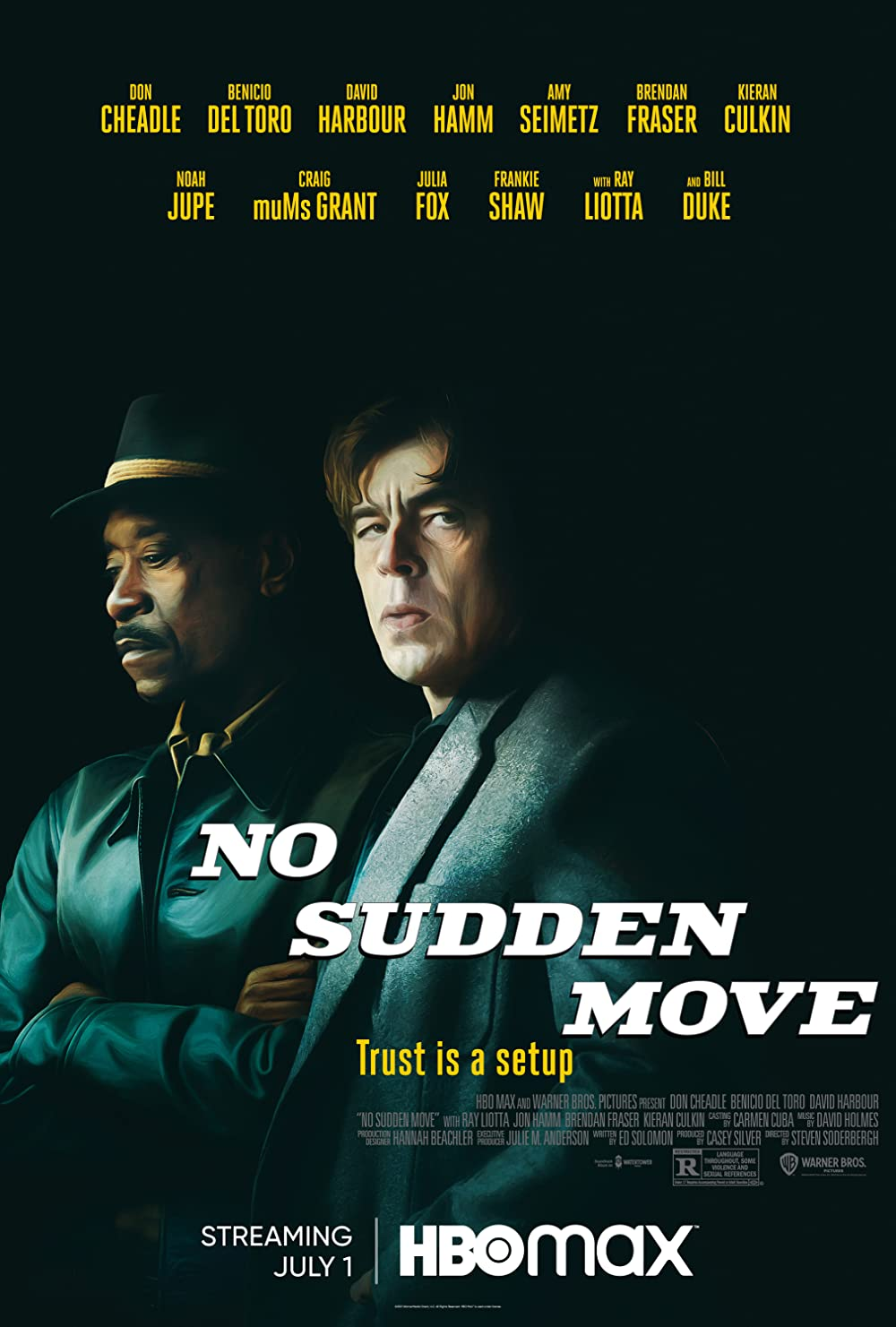No Sudden Move 2021 English 480p HDRip 350MB Download