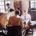 Antonio Dorado, Fernando Solórzano, and Guillermo Ulloa in El rey (2004)
