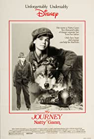 John Cusack, Meredith Salenger, and Jed in The Journey of Natty Gann (1985)