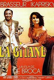 Claude Brasseur and Valérie Kaprisky in La gitane (1986)