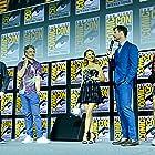 Natalie Portman, Taika Waititi, Kevin Feige, Chris Hemsworth, and Tessa Thompson at an event for Thor: Love and Thunder (2022)