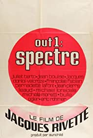 Out 1: Spectre (1974) Poster - Movie Forum, Cast, Reviews