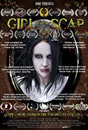 Girl and a scar Poster