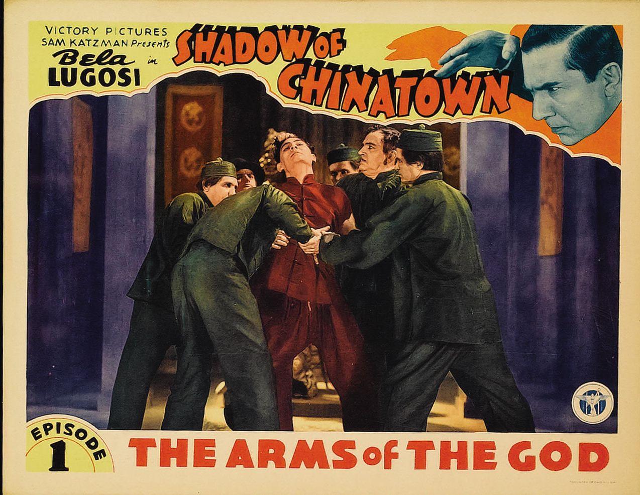 Bela Lugosi and John Cowell in Shadow of Chinatown (1936)