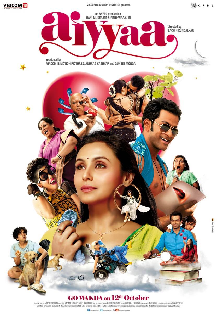 Free Download Aiyyaa (2012) Bollywood Movie 720p HDRip 750MB Download On Mp4moviez Fliz Movies