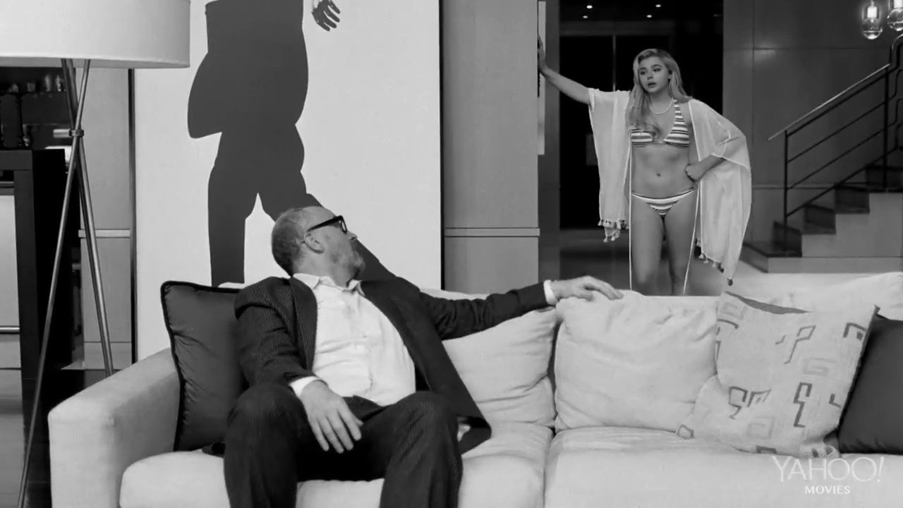 Louis C.K. and Chloë Grace Moretz in I Love You, Daddy (2017)