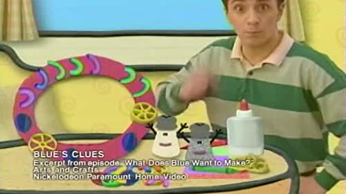 Blues Clues What Does Blue Want To Make