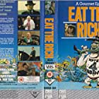 Ronald Allen, Nosher Powell, and Fiona Richmond in Eat the Rich (1987)