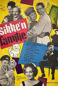 Charlotte Ernst, Judy Gringer, Lone Hertz, Gunnar Lauring, Ib Mossin, Baard Owe, Poul Reichhardt, Jessie Rindom, and Karl Stegger in Sikke'n familie (1963)