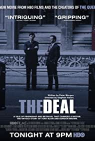 David Morrissey and Michael Sheen in The Deal (2003)