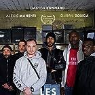 Damien Bonnard, Alexis Manenti, and Djebril Zonga in Les misérables (2017)