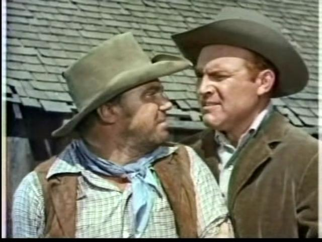 John Doucette and Gene Evans in My Friend Flicka (1955)