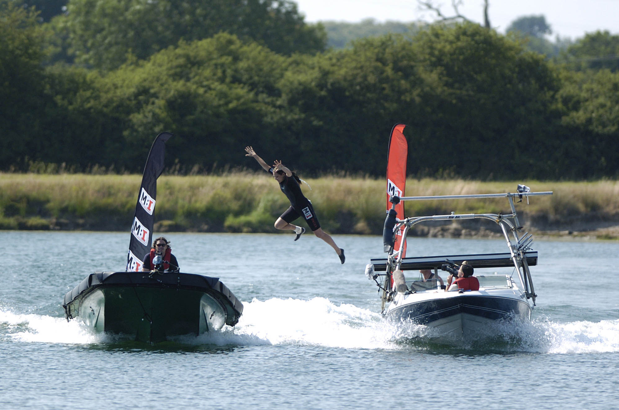 Marc Cass - speedboat to speedboat transfer