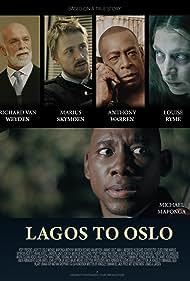 Louise Ryme, Anthony Warren, Richard van Weyden, and Michael Maponga in Lagos to Oslo (2020)