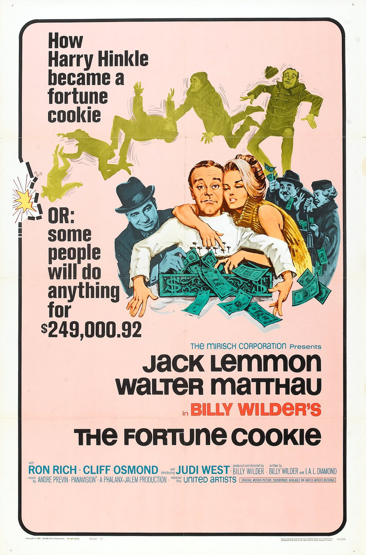 The Fortune Cookie (1966) - IMDb