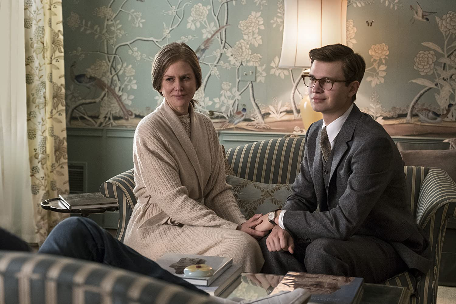 Nicole Kidman and Ansel Elgort in The Goldfinch (2019)