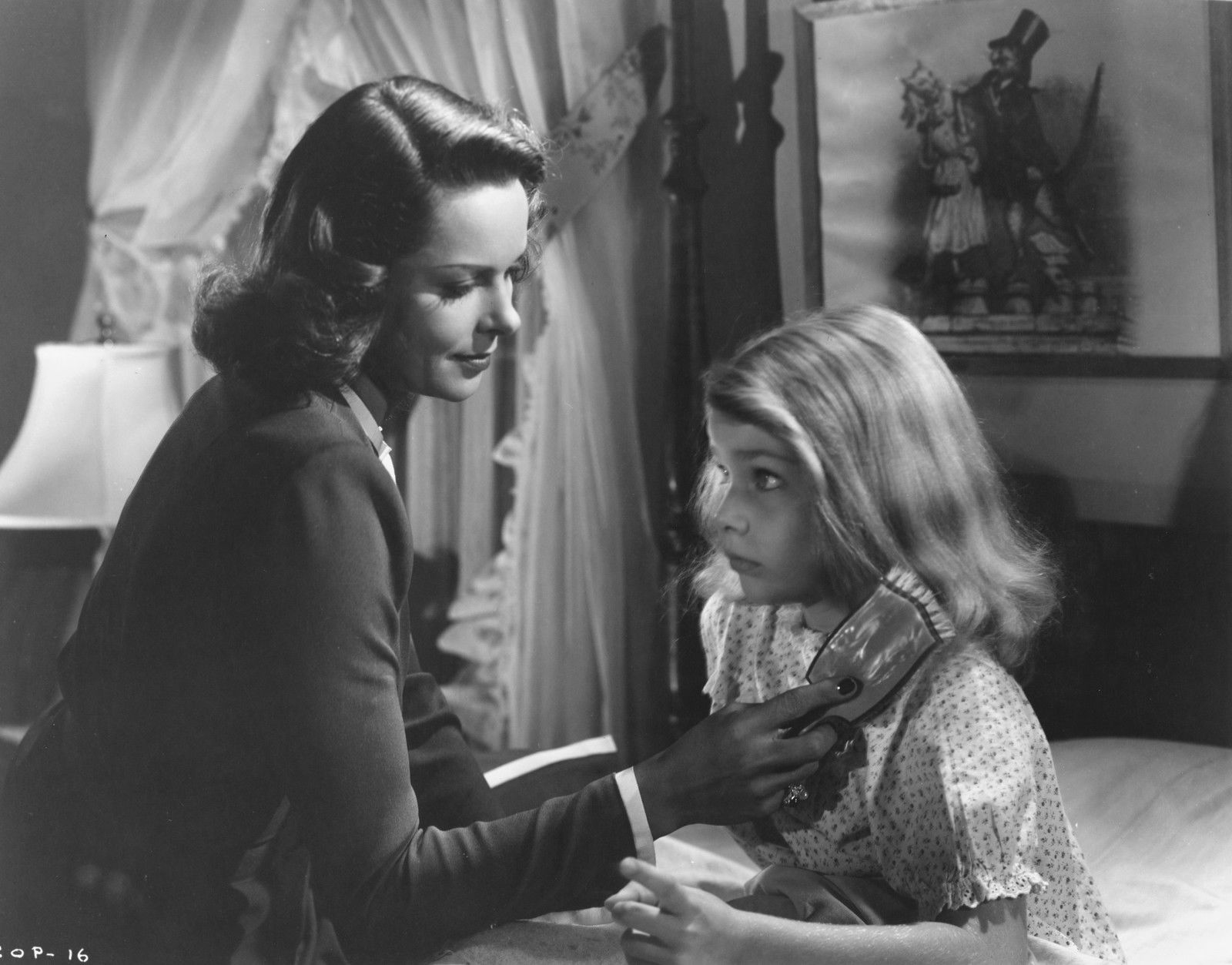 Ann Carter and Jane Randolph in The Curse of the Cat People (1944)