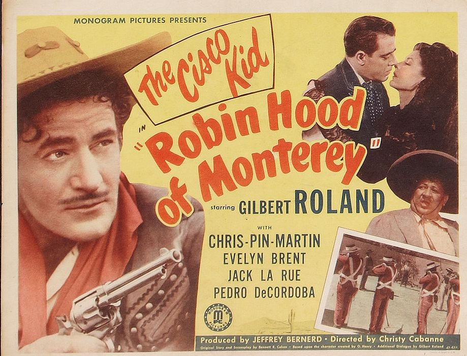 Evelyn Brent, Jack La Rue, Chris-Pin Martin, and Gilbert Roland in Robin Hood of Monterey (1947)