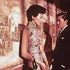 Maggie Cheung and Tony Chiu-Wai Leung at an event for Fa yeung nin wah (2000)