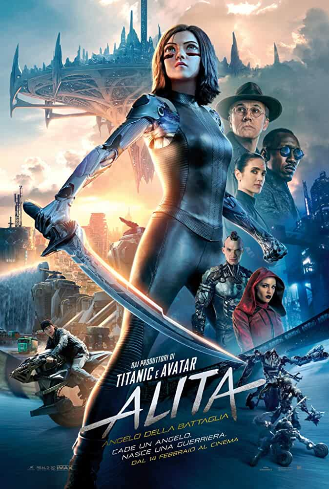 Alita: Battle Angel (2019) HDCAMRip Full Movie Watch Online Free