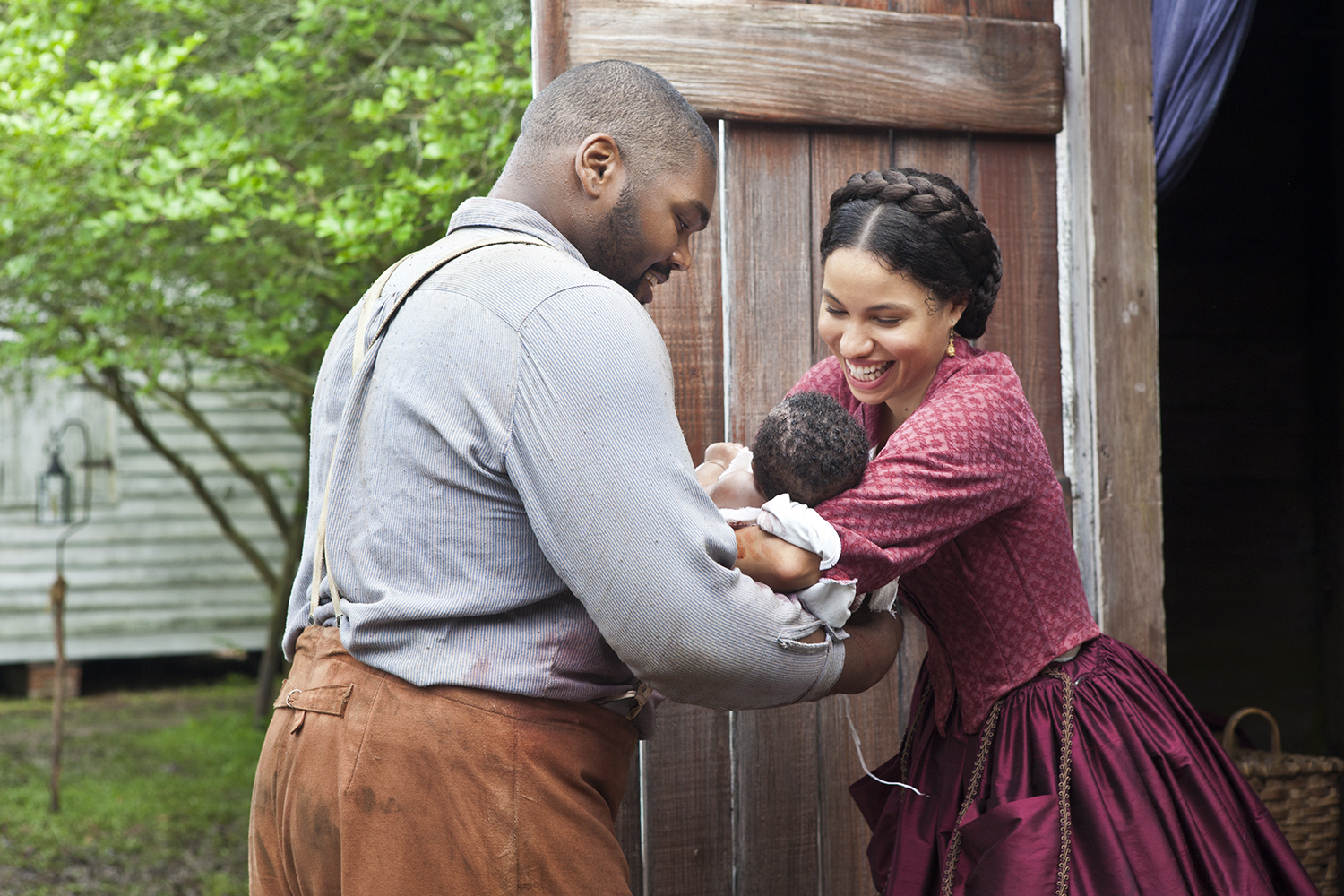 Jurnee Smollett and Theodus Crane in Underground (2016)
