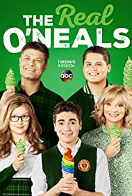 Martha Plimpton, Jay R. Ferguson, Matt Shively, Bebe Wood, and Noah Galvin in The Real O'Neals (2016)
