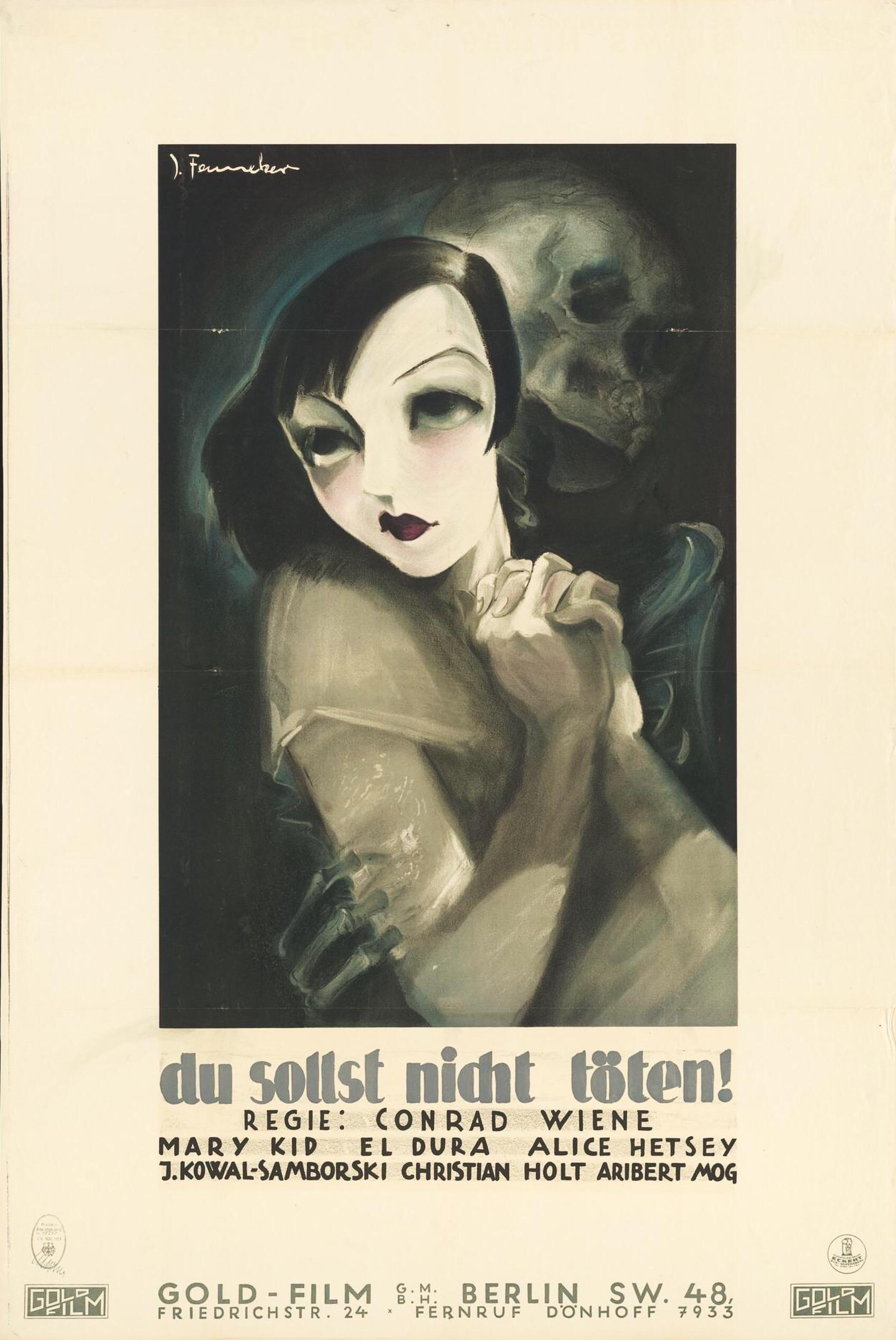 El' Dura, Mary Kid, Ivan Koval-Samborsky, Aribert Mog, Conrad Wiene, Alice Hetsey, Christian Holt, and J. Fenneker in Eine Dirne ist ermordet worden (1930)