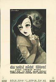 Eine Dirne ist ermordet worden Poster