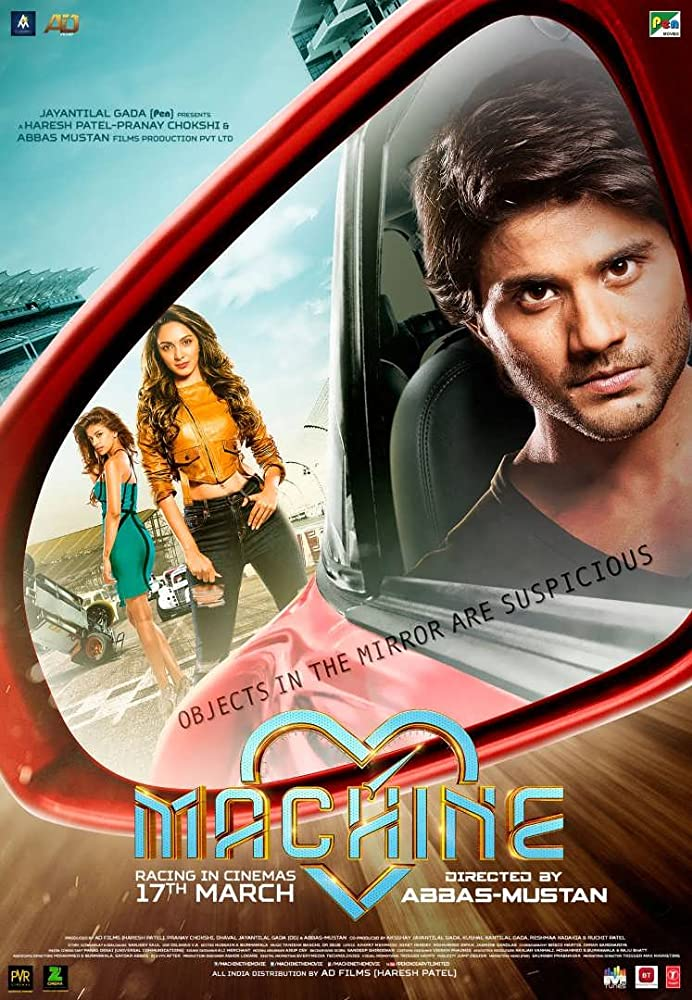 Machine 2017 Hindi Movie 720p WEB-DL 1GB