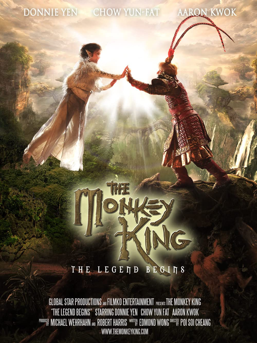 The Monkey King The Legend Begins (2022) Hindi Dubbed HDRip 450MB Download