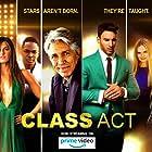 Eric Roberts, Nikki SooHoo, Rachele Brooke Smith, Ben McDonnell, Mandalynn Carlson, Meredith Jackson, Ronnel Ricardo Parham, and Jake Hunter in Class Act (2019)