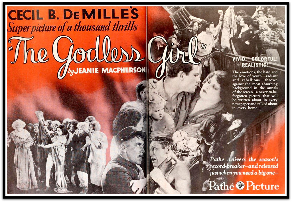 Noah Beery, Emily Barrye, Lina Basquette, Vivian Bay, Elaine Bennett, Julia Faye, Mary Jane Irving, Tom Keene, Viola Louie, Marie Prevost, Kate Price, and Eddie Quillan in The Godless Girl (1928)