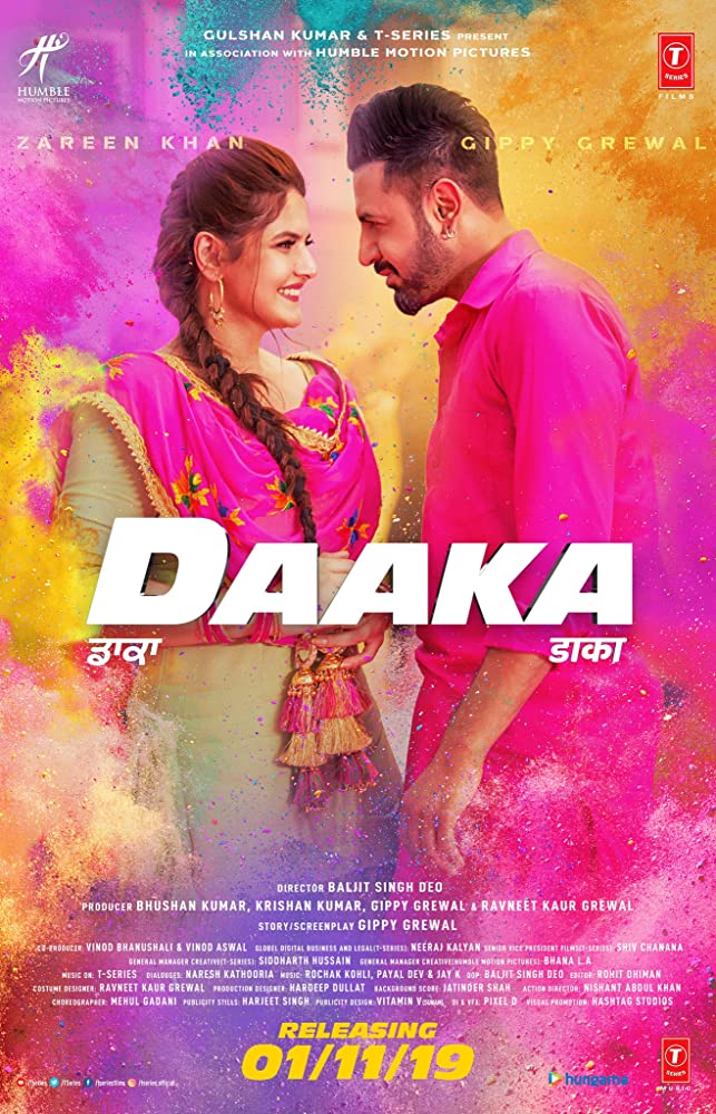 Daaka 2019 Punjabi Movie 720p HDRip ESubs 900MB x264 AAC