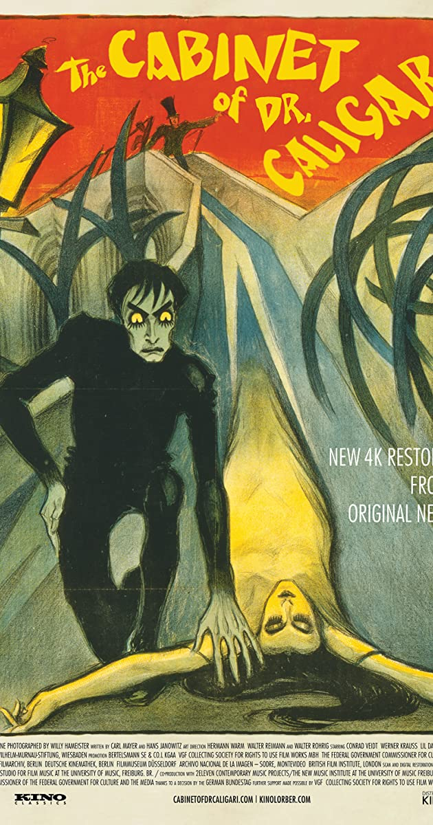 Subtitle of The Cabinet of Dr. Caligari