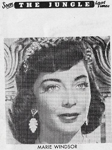Marie Windsor in The Jungle (1952)