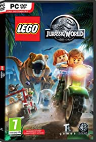 Bryce Dallas Howard, Chris Pratt, and Ty Simpkins in Lego Jurassic World (2015)