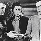 David Cross, Vince Edwards, and Jack Kelly in The Night Holds Terror (1955)