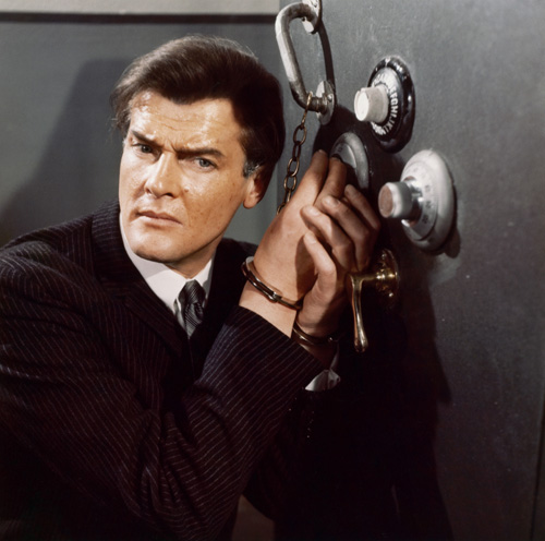 Roger Moore in The Saint (1962)