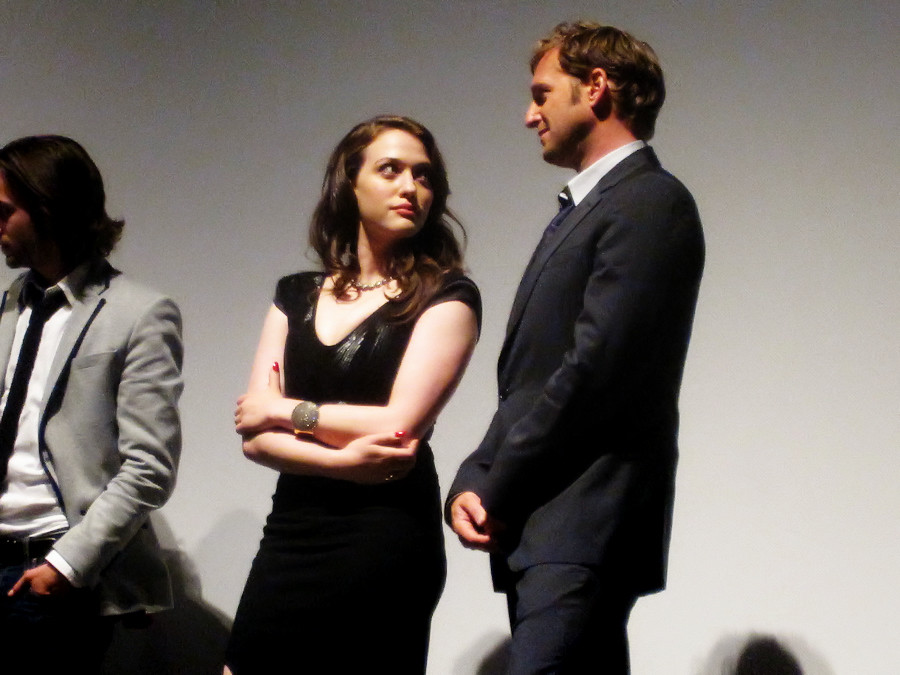 Josh Lucas and Kat Dennings at an event for Daydream Nation (2010)