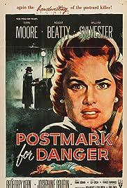 Postmark for Danger Poster