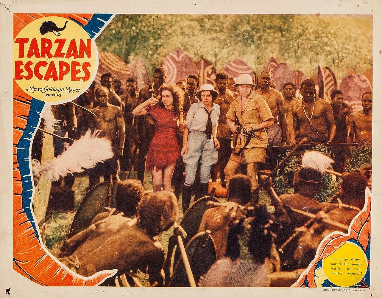 Tarzan Escapes (1936)